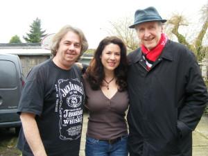 Kenny, Zoe & George Hamilton IV