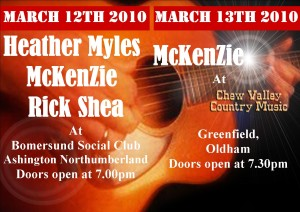 McKenZie support Heather Myles