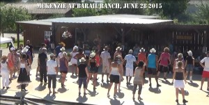 McKenZie at Barail Ranch June 28 10
