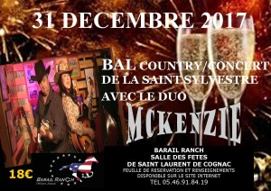 McKenZie played at Saint Laurent de Cognac