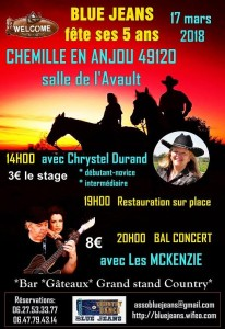 McKenZie played at Latresne & Chemille, Mars 2018
