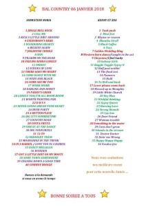 January 6 playlist