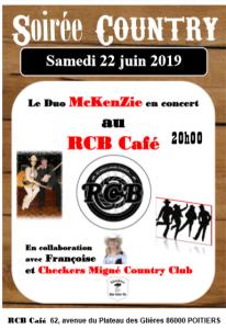 Prochain concert pour McKenZie